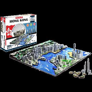 4D City Scape Time Puzzle - Hong Kong