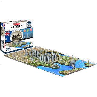 4D City Scape Time Puzzle - Sydney
