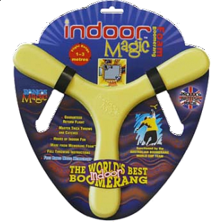 Indoor Magic - Foam Boomerang