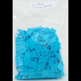 Livecube - Light Blue Finish Panels