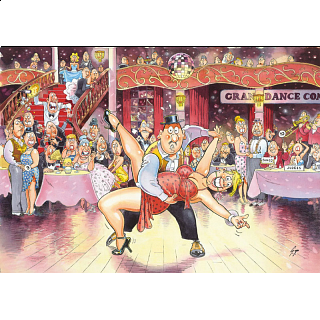 Wasgij Original #17: Ballroom Blushes