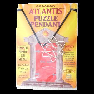 Puzzle Pendant - David's Star