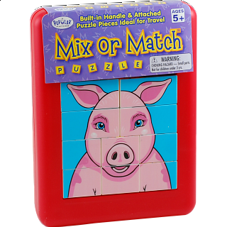 Mix or Match Puzzle - Farm Animals