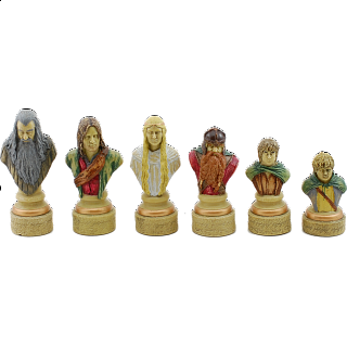 Lord of the Rings Chess Pieces - Damaged Box