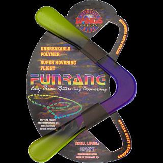 Fun Rang - polymer boomerang