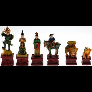 Tang Dynasty Chess Set