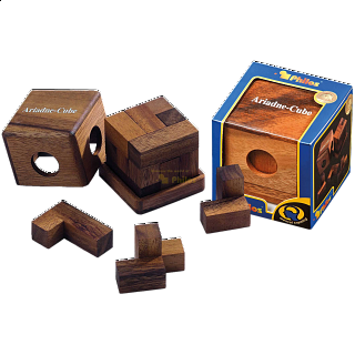 Puzzle Solution for Ariadne Cube