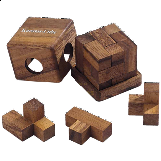 Puzzle Solution for Knossos Cube