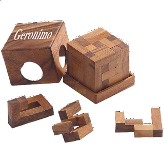 Puzzle Solution for Geronimo