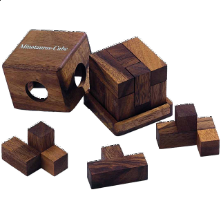 Puzzle Solution for Minotaurus Cube