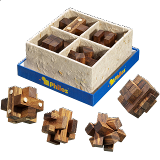Puzzle Solution for Puzzle Gift Set III