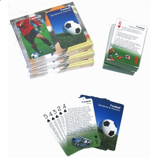 Playing Cards - Soccer Trivia