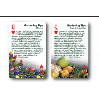 Playing Cards - Gardening Tips