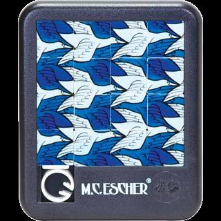 Sliding Pieces Puzzle - M.C. Escher : Birds