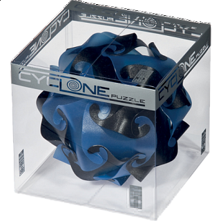 Cyclone Puzzle - Blue, Grey and Black