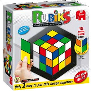Rubik's: Double Side Challenge Jigsaw Puzzle