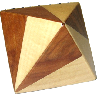 Puzzle Solution for Vinco Octahedron 1