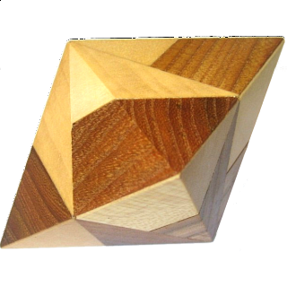 Puzzle Solution for Double Pyramid