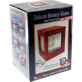 Money Maze -Wooden Deluxe
