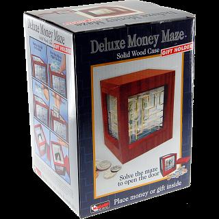 Money Maze -Wooden Deluxe
