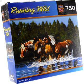 Running Wild - Heading Upstream