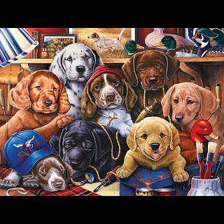Furry Friends - Grandpa's Pups