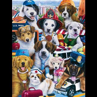 Furry Friends - Working Pups