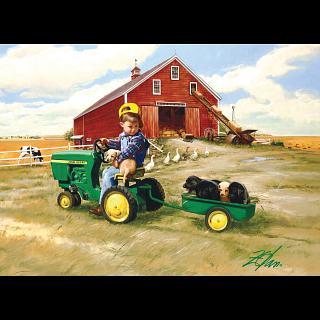 John Deere - Tractor Ride