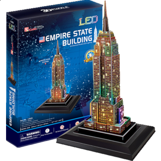 Empire State Building - LED Lit - 3D Jigsaw Puzzle