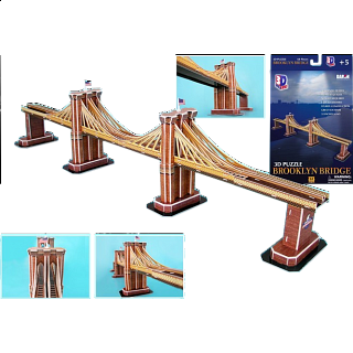 Brooklyn Bridge - 3D Jigsaw Puzzle
