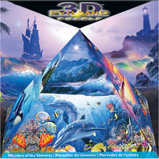 3D Pyramid Puzzle - Wonders of the Universe
