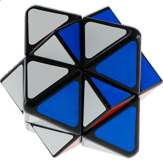 Starlike Skewb Cube - Black Body
