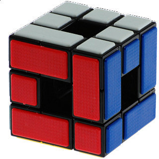CT Void Bandaged 3 Cube - Black Body