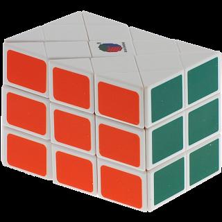 Long Case Cube - White Body
