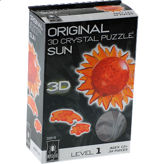 3D Crystal Puzzle - Sun
