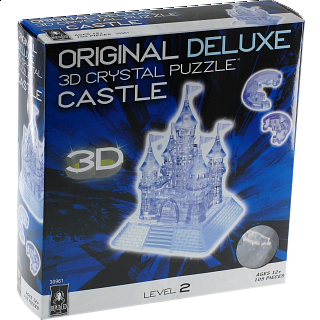 3D Crystal Puzzle Deluxe - Castle