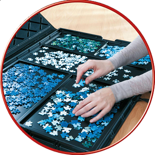 Puzzle Store - for up to 1000 pcs puzzles