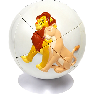 Lion King Puzzle Ball 2