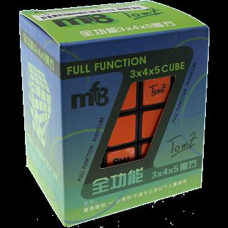 Tom Z & MF8 Full Function 3x4x5 Cube - Black body