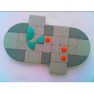 Puzzle Solution for Triple Cross - Plastic