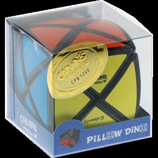 Pillowed Dino Cube - Black Body
