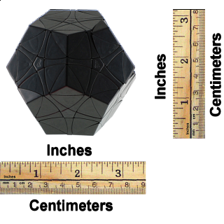 Helicopter DIY Dodecahedron - Black Body