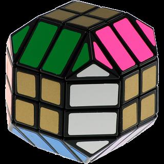Super 4x4x4 Mask Cube - Black Body