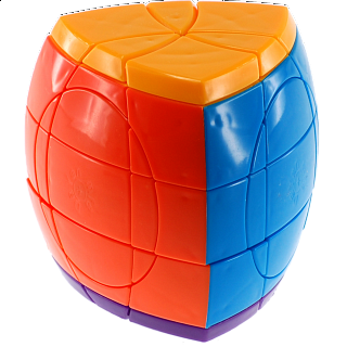 Super 5 Layer Pentahedron Puzzle - Solid 5 Color Body