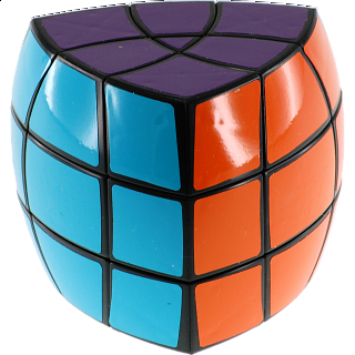 Standard 3 Layer Pentahedron Puzzle - Black Body