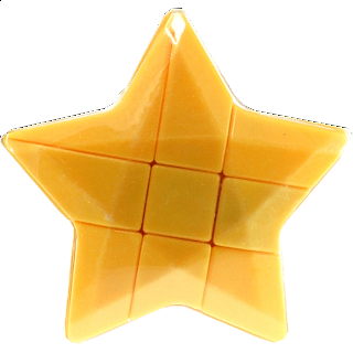 Star 3x3x3 Cube - Yellow Body