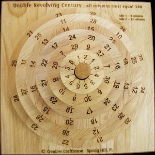 Double Revolving Century Puzzle