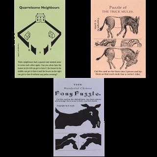 Sam Loyd Advertising Cards - 3 Card Special