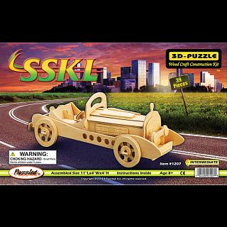 SSKL Car - 3D Wooden Puzzle
