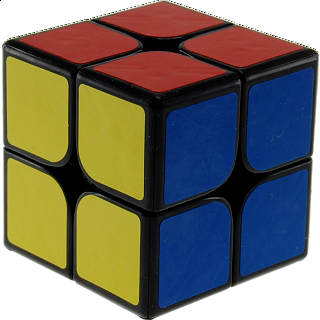 2x2x2 I - Black Body for Speed Cubing (46x46mm)